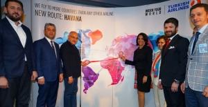 THY'nin Karakas Ve Havana Uçuşları Başladı