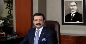 """TOBB Başkanı Hisarcıklıoğlu: """"2017'de Huzur Hakim Olsun, Dünyanın Her Yerinde Barış Olsun"""""""