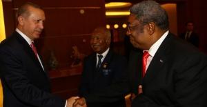 Cumhurbaşkanı Erdoğan Madagaskar'da Ulusal Meclis Başkanı Ve Senato Başkanını Kabul Etti