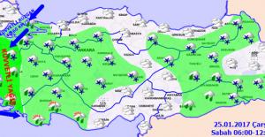 Marmara'da Hava Sıcaklığı Azalacak