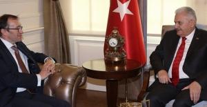 Başbakan Yıldırım Kıbrıs Özel Temsilcisi Eide'yi Kabul Etti
