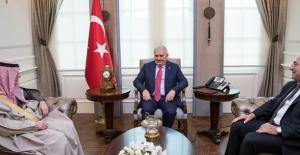 Başbakan Yıldırım Suudi Bakan Jubeir'i Kabul Etti