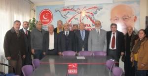 CHP'den Saadet Partisi'ne 'Hayır'lı Ziyaret