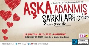 """Kadıköy'de Sevgililer Günü """"Aşk'a Adanmış Şarkılar"""" İle Kutlanacak"""