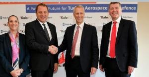 Kale Grubu İngiliz Motor Devi Rolls-Royce İle Türkiye'de Uçak Motoru Üretecek