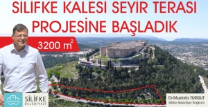 Silifke'de Seyir Terası Projesine Başlandı