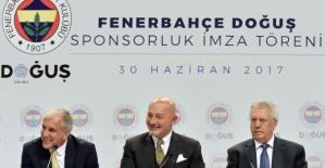 Doğuş Grubu, Fenerbahçe'ye Sponsor Oldu