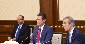 Bakan Canikli, Cumhurbaşkanı Mirziyoyev İle Görüştü