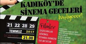 Kadıköy'de Sinema Geceleri Başlıyor