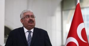 MHP'li Yalçın: Davutoğlu'nun Rotayı Şaşırmış Haliyle Liderimize Laf Etmesi Kabullenilemez