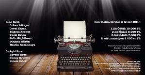 Tiyatro Metni Yazma Yarışması Başvuruları Başladı