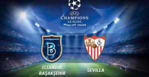 Başakşehir, Sevilla'ya 2-1 Yenildi