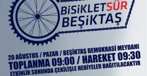 Beşiktaş Belediyesi'nden 'Bisiklet Sür' Etkinliği