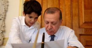 Cumhurbaşkanı Erdoğan'dan Torun Paylaşımı