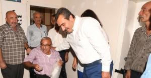 Çukurova Belediye Başkanı Çetin, Saimbeyli'ye Akülü Araç Götürdü