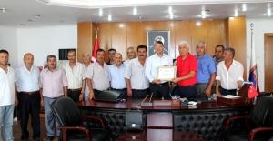 Genel Başkan Özünal'dan Başkan Turgut'a Teşekkür