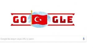 Google Cumhuriyet Bayramı'na Özel Doodle Hazırladı