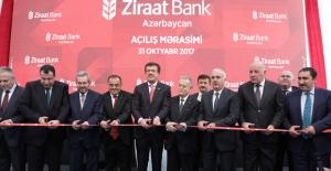 Ziraat Bank Azerbaycan Resmi Açılışı Yapıldı