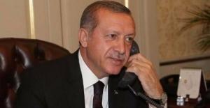Cumhurbaşkanı Erdoğan Almanya Şansölyesi Merkel İle Görüştü