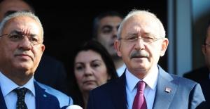Kılıçdaroğlu, DSP Genel Başkanı Aksakal'ı Ziyaret Etti