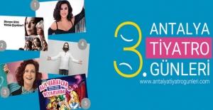 Antalya Tiyatro Günleri Başladı