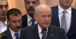 Bahçeli'den Dilmen'e: Ne Türk Milletine Ne De Cumhurbaşkanlığı'na Yalakalığa Yakışır