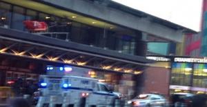 New York'taki Otobüs Terminalinde Patlama