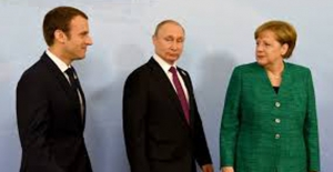 Macron , Merkel Ve Putin Süriye'deki Ateşkesi Görüşecek