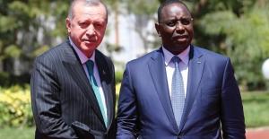 Cumhurbaşkanı Erdoğan, Senegal Cumhuriyet Sarayında
