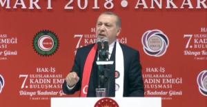 Cumhurbaşkanı Erdoğan: Türkiye Kadın Hakları Bakımından İleri Düzeyde