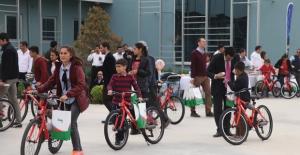 Şanlıurfalı 200 Öğrenci Bisikletlerine Kavuştu