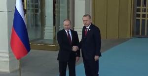 Cumhurbaşkanı Erdoğan ve Putin Akkuyu Nükleer Santrali'nin Temelini Attı