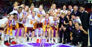 Galatasaray EuroCup Women Şampiyonu