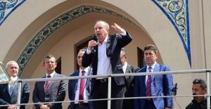 CHP Cumhurbaşkanı Adayı İnce: 51 Günlük Seferberlik İlan Ediyorum