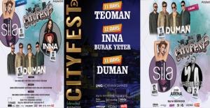 Inna, Sıla, Teoman, Duman, Mabel Matiz, Manga Ve Daha Pek Çok İsim Bu Festivalde