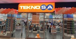 Teknosa'nın İzmir'deki 17'nci Mağazası Açıldı