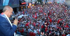 """Cumhurbaşkanı Erdoğan: """"Biz Yaratılanı, Yaradan'dan Ötürü Sevdik"""""""