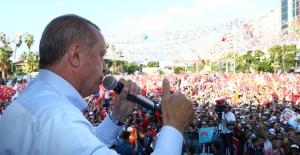 Cumhurbaşkanı Erdoğan: Kandil'i Başlarına Yıktık