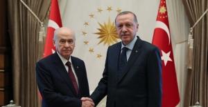 Cumhurbaşkanı Erdoğan Bahçeli'yi Kabul Etti