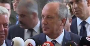 İnce'den, Kılıçdaroğlu'na Onursal Başkanlık Teklifi