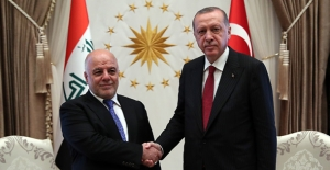 Cumhurbaşkanı Erdoğan Irak Başbakanı El-İbadi'yi Kabul Etti