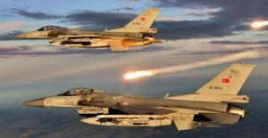 TSK'dan Metina Bölgesine Hava Harekâtı