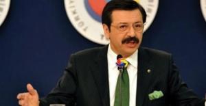 """Hisarcıklıoğlu: """"Devletimizi Özel Sektörün Yanında Görmekten Mutluyuz"""""""