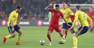 A Milli Takımımız İsveç'e 1-0 Mağlup Oldu
