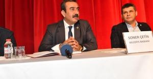 """Başkan Çetin, """"İkinci Dönemimiz Ustalık Dönemi Olacak"""""""