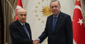 Cumhurbaşkanı Erdoğan İle Bahçeli Görüşmesi Başladı