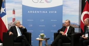 Cumhurbaşkanı Erdoğan, Şili Devlet Başkanı Pinera İle Görüştü