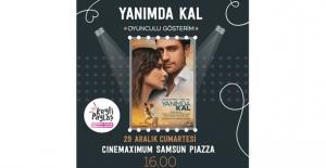 'Yanımda Kal' Film Ekibinden Samsun Piazza AVM'ye Özel Gösterim