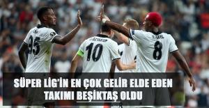 Süper Lig'in En Çok Gelir Elde Eden Takımı Beşiktaş Oldu