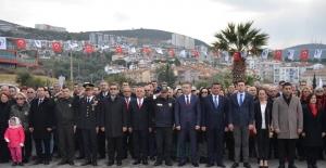 Atatürk'ün Kuşadası'na Gelişinin 95. Yıl Dönümü Kutlandı